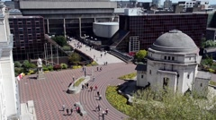 Birmingham Hall of Memory & Paradise Forum - stock footage