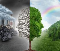 Environment Change Stock Illustration