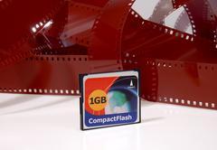 Digital Vs Film - stock photo