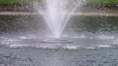 Water Fountain Close-Up - stock footage