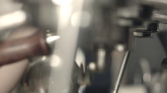 Coffee Shop Detail 01 Stock Footage