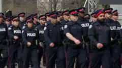 Metro Toronto Police - stock footage