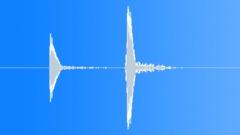 Mouth Pop and Slap Double Hit App Alert Medium Sound Effect
