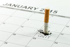 Quit smoking Stock Photos