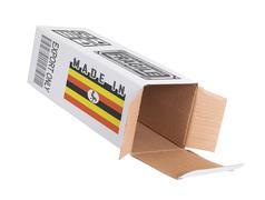 Concept of export - Product of Uganda - stock photo