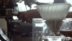 Coffee Shop Detail 05 Stock Footage