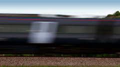 High-speed train Stock Footage