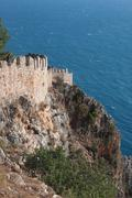 Stock Photo of castle of Alanya