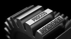 Process Improvement on the Metal Gears Stock Illustration