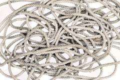 Tangled Rope - stock photo