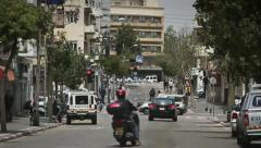 Israel. Tel Aviv, the city center. thoroughfare - stock footage