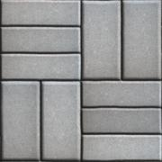 Gray Pave Slabs Rectangles Arranged Perpendicular to Each other Two or Three Stock Illustration