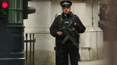 Armed Guard 2 Stock Footage