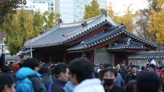 Seoul - Dongmyo Market Stock Footage