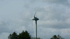 Wind Turbine Close up (60 fps) Arkistovideo