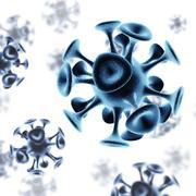 Molecular structure model Stock Illustration
