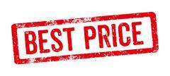 Red Stamp - Best Price Stock Illustration