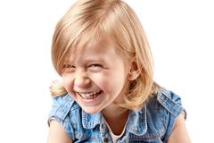 Cute happy girl - stock photo