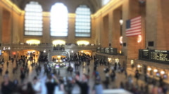 The Grand terminal train in NYC Stock Footage