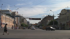 RUSSIA. TULA. JULY 2009: city view Stock Footage