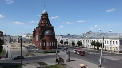 RUSSIA. Vladimir. JUNE 2011: Church - stock footage