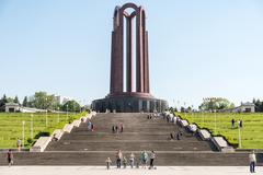 The Mausoleum Of Romanian Heroes - stock photo