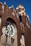 Church in Detroit area Kuvituskuvat