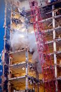 Demolition Crane - stock photo