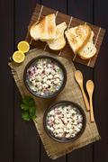 Chilean Ceviche - stock photo