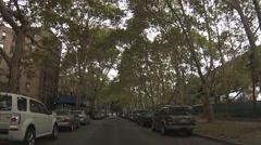 Queensbridge Houses - Long Island City, Queens New York Stock Footage