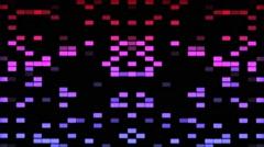 Vj Loop Equalizer Colored Volume Background - stock footage