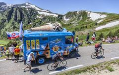 Publicity Caravan - Tour de France 2013 - stock photo