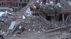 Earthquake Nepal Bhaktapur 0 Stock Footage