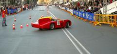 "Bari, Italy. May 2, 2015: Commemoration of the ""Grand Prix City of Bari"" held Stock Photos"