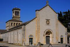 """Sanctuary aBBEY """"Madonna della Scala"""", Noci. Apulia. Italy. - stock photo"""