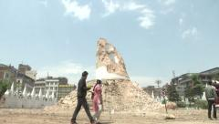 Earthquake Nepal, Stock Footage