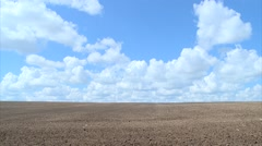 Stock Video Footage of Field in the clouds