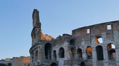 Coliseum at sunrise. Rome, Italy. 1280x720 Stock Footage