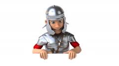 Roman soldier Stock Footage