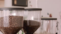 Coffee Shop Detail 14 Stock Footage
