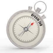 Dream job compass Stock Illustration