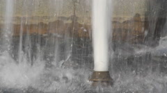 Public Water Jets Source Stock Footage