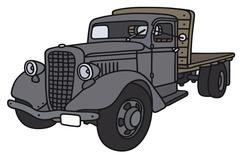 Old lorry Stock Illustration