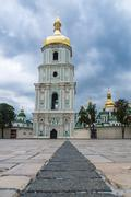 St. Michael's Golden-Domed Monastery in Kiev, Ukraine Stock Photos