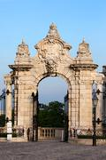 Habsburg Gate in Budapest Stock Photos