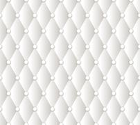 Vector abstract white upholstery background Stock Illustration