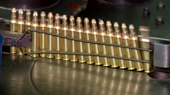 Factory of ammunition Stock Footage