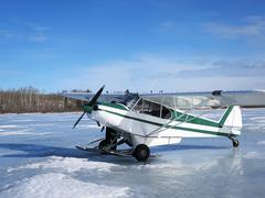 Ice fishing in Alberta, Canada Kuvituskuvat