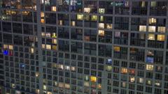 Windows light timelapse 4K Stock Footage