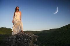The Goddess - stock photo